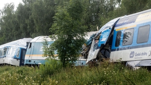 The crash happened near the village of Milavce