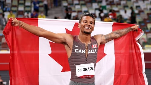 The Canadian became the first Olympic 200m champion since Usain Bolt