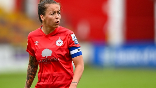 Pearl Slattery's goal was the difference between the sides