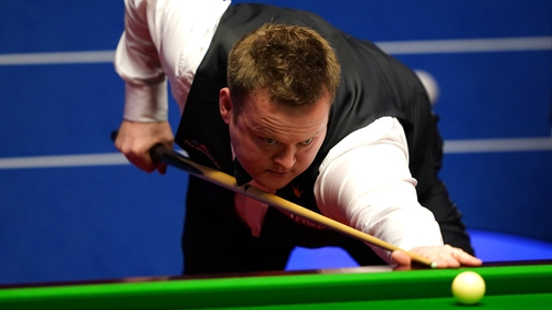 Murphy won his opening two matches at the Leicester's Morningside Arena