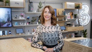 Elaine Carey, Chief Commercial Officer with Three Ireland & Three UK