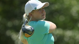 Stephanie Meadow shot six birdies and one bogey during an excellent second round