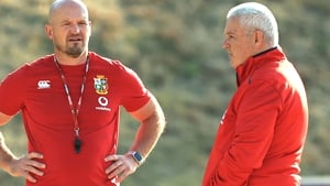 Gregor Townsend (left) has come under scrutiny due to the Lions' shortcomings in attack
