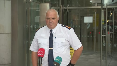 Supt Declan McCarthy said that in his 40 years' of policing he had never encountered 'such a level of violence' inflicted on a person
