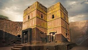 The Church of Saint George in Lalibela