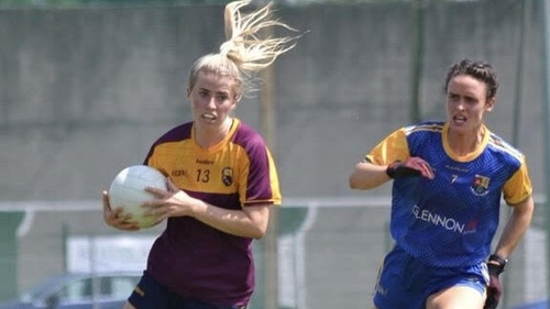 Derbhla Doyle in action against Longford