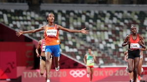 Hassan showed blistering pace in the home straight to take gold