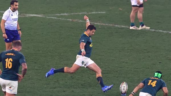Morne Steyn kicked the winning points in two separate British and Irish Lions series