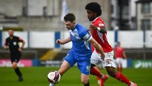 Karl O'Sullivan's goal secured Finn Harps their first league win since May