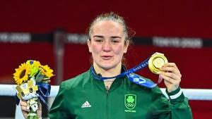 Kellie Harrington is sticking with amateur boxing