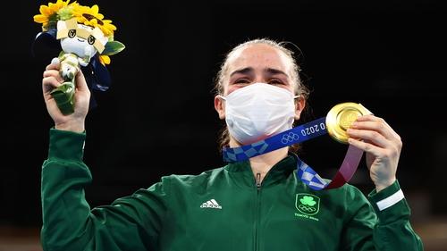 Kellie Harrington earned plaudits from across the sporting spectrum