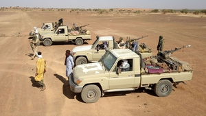 Local militia and Mali armed forces are fighting jihadists across the Sahel region (File pic)