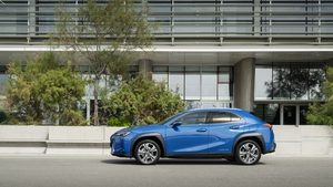 The UX 300 is the first all-electric car from Lexus.