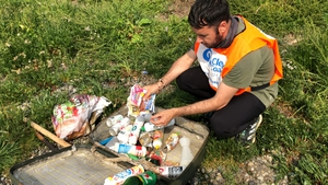 Phil Behan of the Bull Island Action Group has kept a selection of the 'retro rubbish' he and the other volunteers have found on their beach cleans