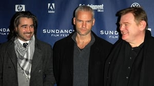 Colin Farrell, Martin McDonagh and Brendan Gleeson at the premiere of In Bruges at the Sundance Film Festival in Park City, Utah in January 2008