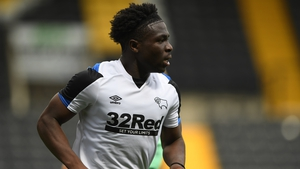 Festy Ebosele was man of the match for Derby