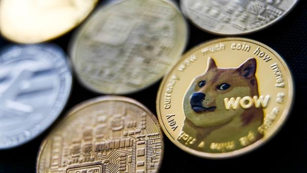 """Money coins such as Bitcoin, Dogecoin and Ripple are worthless, thrash, chuck 'em in the bin"". Photo: Jakub Porzycki/NurPhoto via Getty Images"