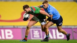 Mayo's Aidan O'Shea in action against Jonny Cooper of Dublin in last year's All-Ireland final