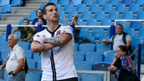 Patrick McEleney scored two goals in the away leg for Dundalk