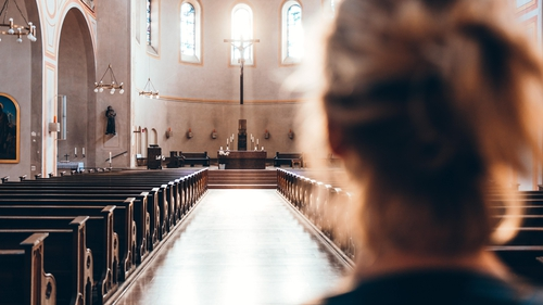 """""""A study found that a stunning 74% of Irish Catholic women believed that the Church did not treat them with 'a lot of respect', compared to just 6% of Protestant women"""". Photo: Thomas Vitali/Unsplash"""