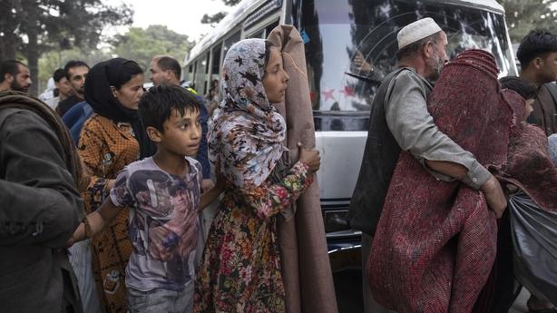 Pengungsi Afghanistan di Kabul