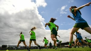 Members of the Meath squad ahead of their previous date with Cork in this year's championship