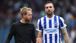 Shane Duffy was back involved for Graham Potter's first team on the opening weekend