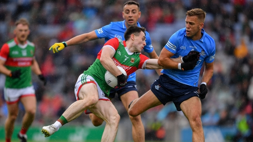 Paddy Durcan was superb for Mayo