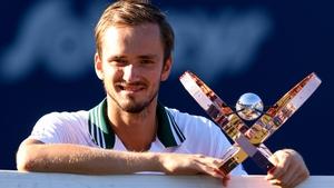 Daniil Medvedev won his 12th tour-level title