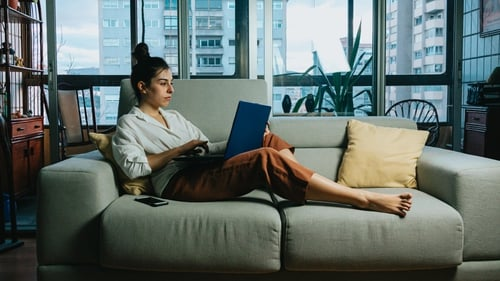 """""""Remote workers are at least as productive as face-to-face workers and they are often more satisfied with their work"""". Photo: Ave Calvar/Unsplash"""