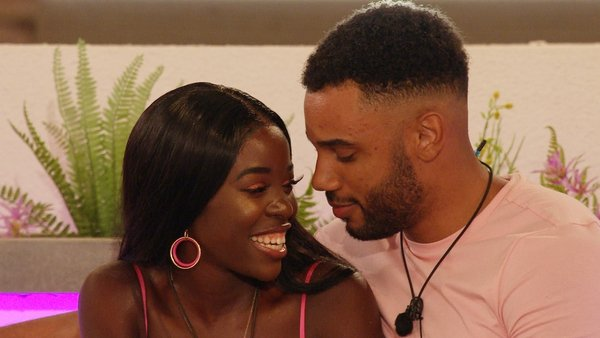 Love Island contestant Kaz has been berated for using 'sexy baby voice'.