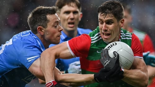 Lee Keegan starred in Mayo's extra-time victory over Dublin