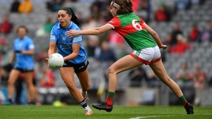 Sinead Goldrick played the second half of the semi-final victory over Mayo