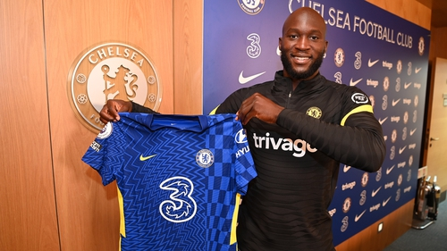 Romelu Lukaku is back for his second spell at Chelsea