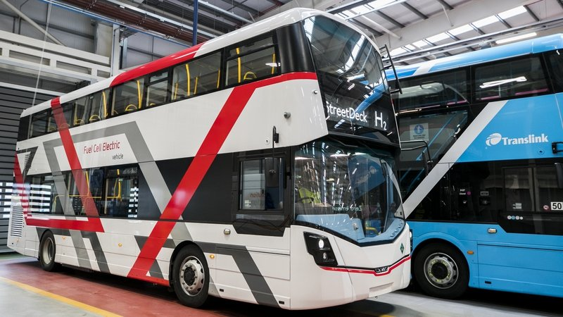 Wrightbus was bought out of administration in October 2019, and had just 56 members of staff at that point