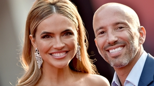 Chrishell Stause and Jason Oppenheim made their red carpet debut in Los Angeles on August 16