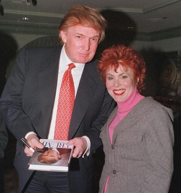 Donald Trump and Ruby Wax (BBC / Jonathan Furniss / PA)