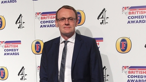 Sean Lock pictured at the British Comedy Awards in 2012