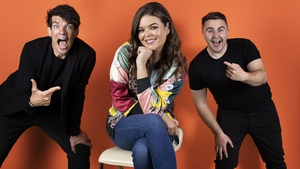 2FM Breakfast's Donncha O'Callaghan, Doireann Garrihy and Carl Mullan