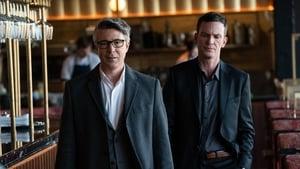 Aidan Gillen and Keith McErlean in Irish crime drama Kin
