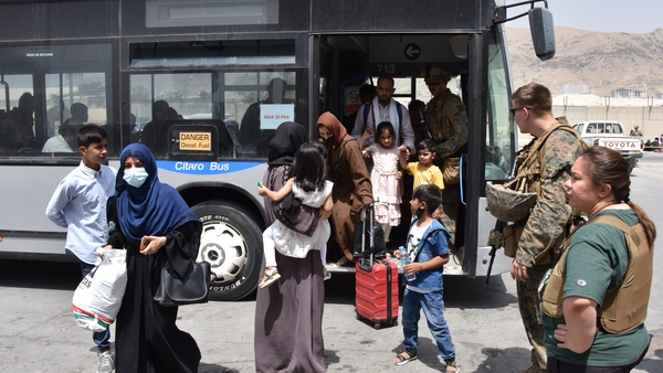 Thousands of families are scrambling to leave Afghanistan