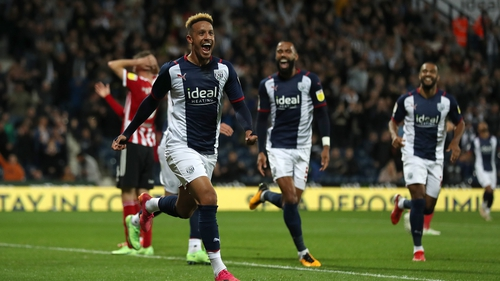 Callum Robinson is back in action with West Brom this weekend
