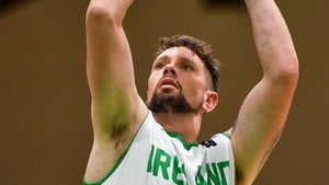 Jason Killeen in action during the FIBA Men's European Championship for Small Countries