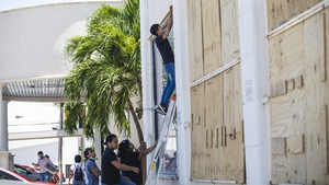 Over 6,000 tourists and residents were evacuated to storm shelters across the southeastern state of Quintana Roo
