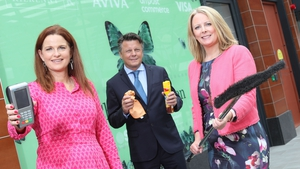 Evelyn Moynihan, CEO of Kilkenny Design, Carina Galavan, property specialist, Aviva Ireland and (centre) Duncan Graham, Managing Director of Retail Excellence