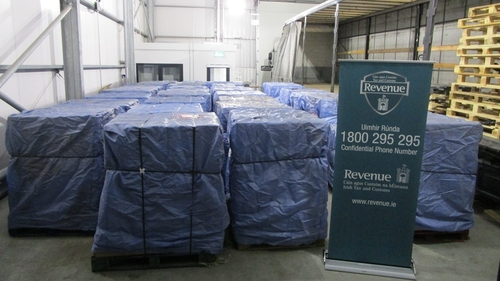 The 'roll your own' tobacco was discovered when officers at the port carried out a search of a Polish-registered vehicle