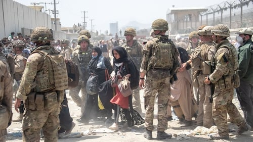 British armed forces work with the US military to evacuate eligible civilians and their families in Kabul