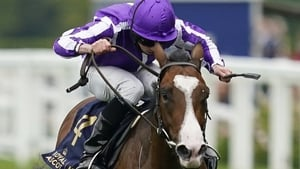 Ryan Moore rode Point Lonsdale to victory at the Curragh