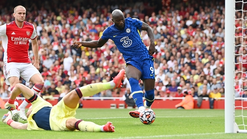 Romelu Lukaku could have had more goals on a comfortable day for Chelsea