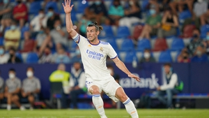 Gareth Bale was back among the goals for Real Madrid